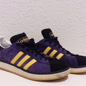 Adidas Campus II + Mens Size 11.5 Purple Suede